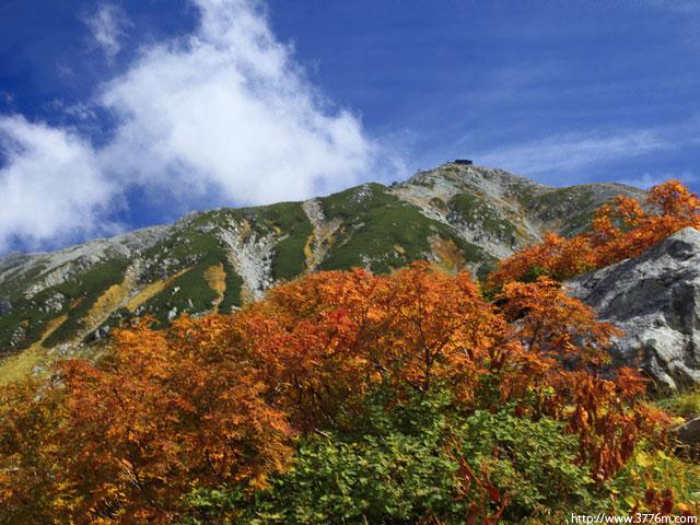 清秋の立山/室堂
