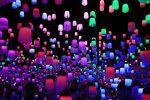 チームラボ ボーダーレス#デジタルアート#ランプの部屋