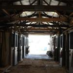 The stables we use for boarding horses