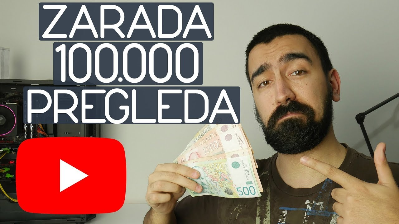 YouTube pregledi i zarada