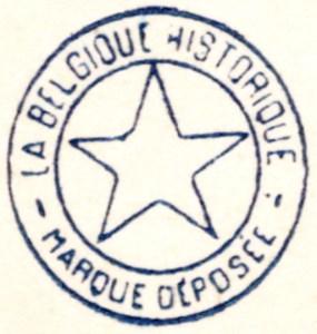 er een reeks postkaarten bestaat van La Belgique Historique