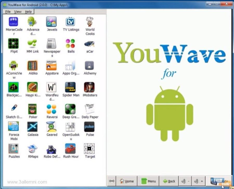 تحميل برنامج تشغيل تطبيقات الاندرويد على الكمبيوتر 2015