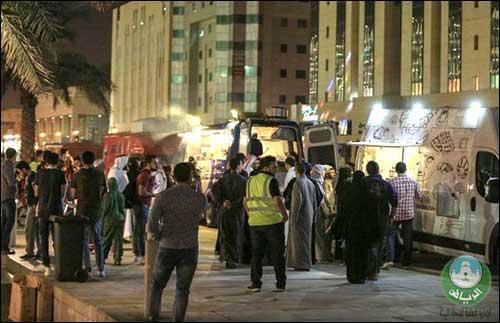 أول عربات متنقلة للاطعمه تخصصها أمانه الرياض