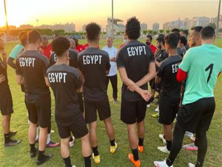 مباراة منتخب مصر الأولمبي ضد نظيره المنتخب الإسباني ضمن أولمبياد طوكيو 2021