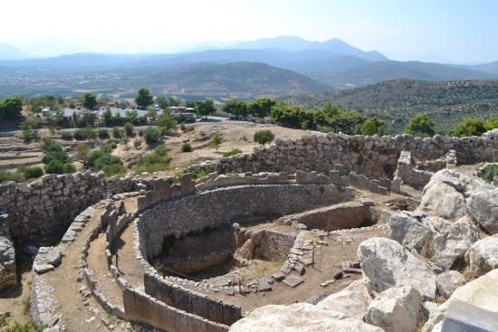 "Mycenae's ""Grave Circle A"""