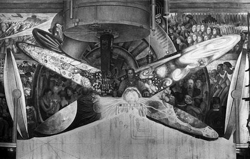 Diego Rivera's Rockefeller Center fresco
