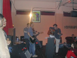 Subway Sect at our first ever event in 2003