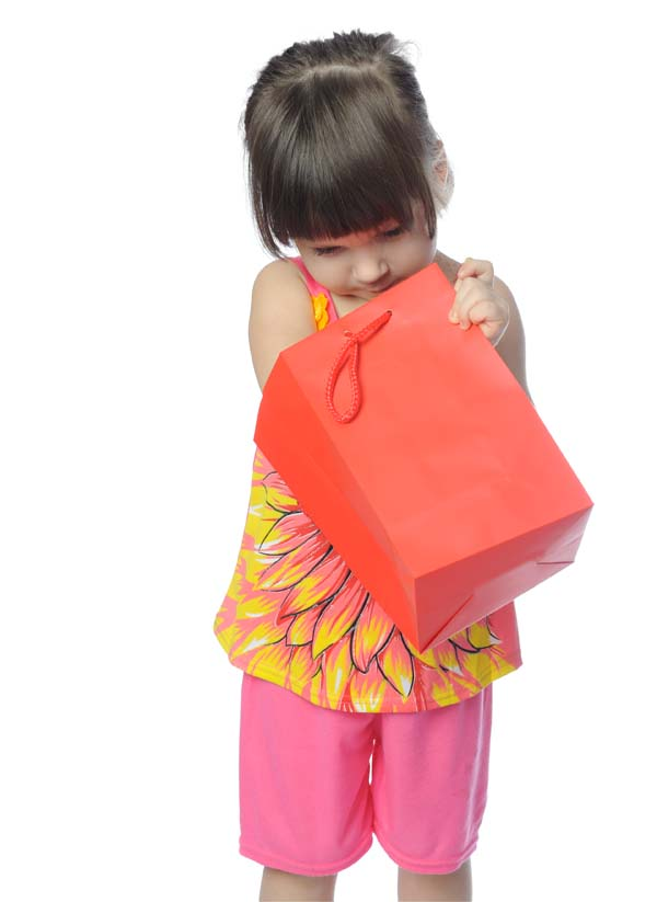 Girl With Surprise Gift