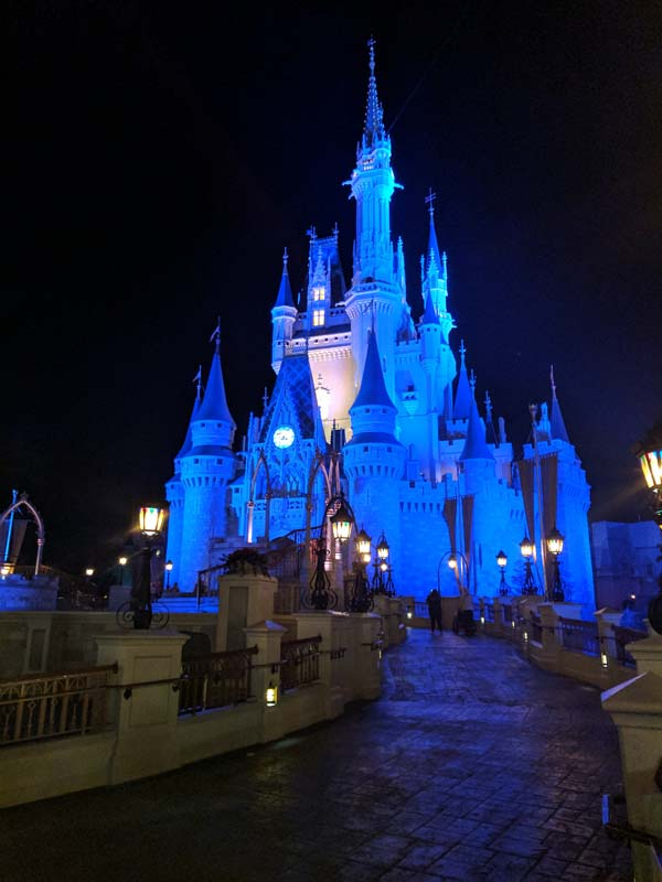 Cinderella's Castle Entrance