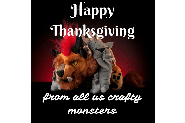 Happy Thanksgiving Charr Card