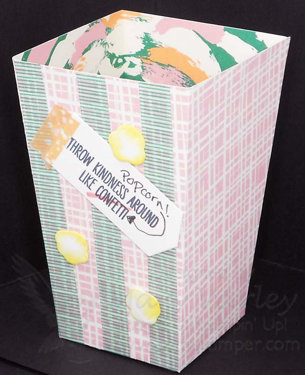 40D Day Archives 40amStamping Pad Stunning Decorative Popcorn Boxes