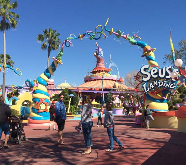 Seuss Landing at Universal Islands of Adventure in Orlando