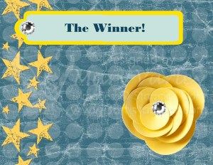 The Winner - Visit http://www.3amstamper.com