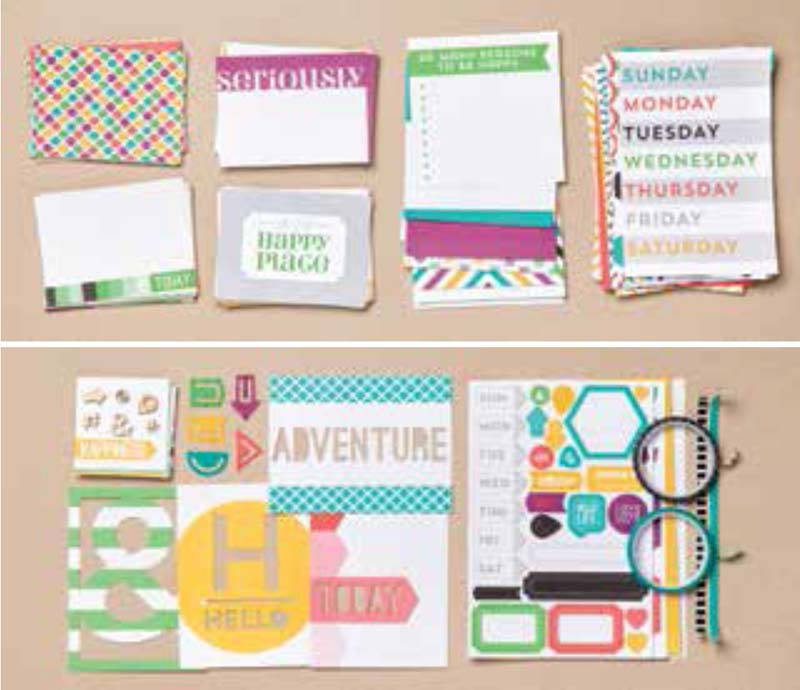 This is the Life Project Life Cards & Accessory Pack