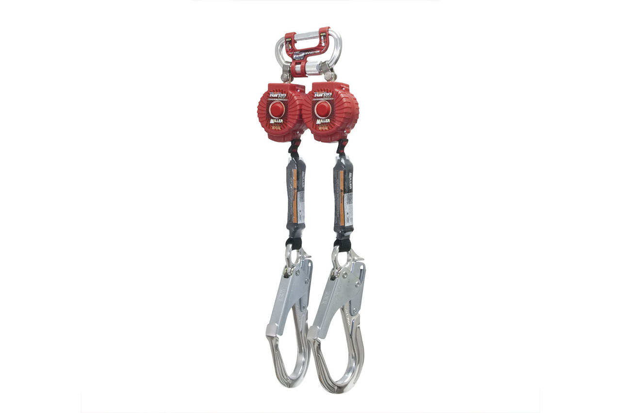 Miller Twin Turbo Fall Protection Systems With G2 Connector 3a Solutions