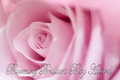 Blooming Brilliant Blog Award