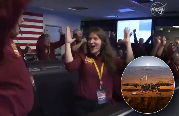NASA's InSight lander successfully reaches Mars