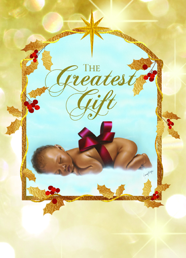 The Greatest Gift African American Christmas Cards
