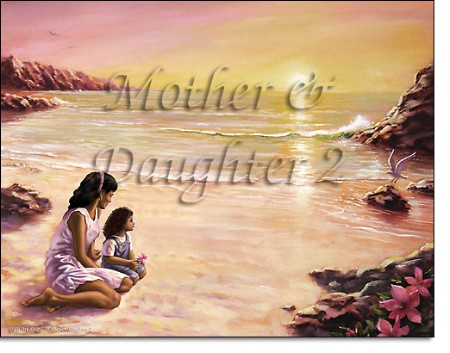 African American Mother And Daughter First Name Origin Print