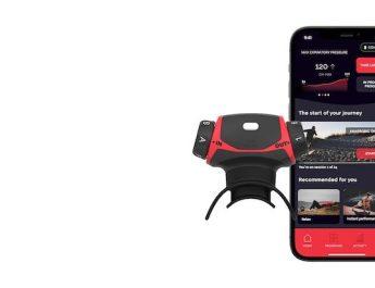 Test de l'appareil d'entrainement respiratoire connecté Airofit Pro