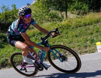 Entretien : Mathilde Terrasson, victorieuse de la Haute Route Dolomites, nous parle de sa première expérience sur une cyclosportive par étapes