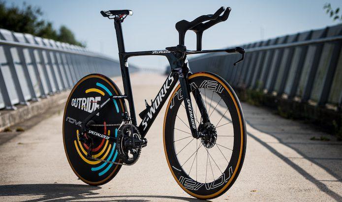 Championnat du monde 2021 de CLM : les vélos de Remco Evenepoel, Rémi Cavagna et Kasper Asgreen