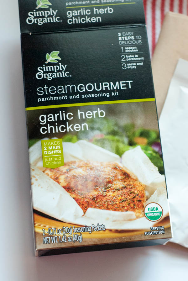 Simply Organic Garlic and Herb Chicken