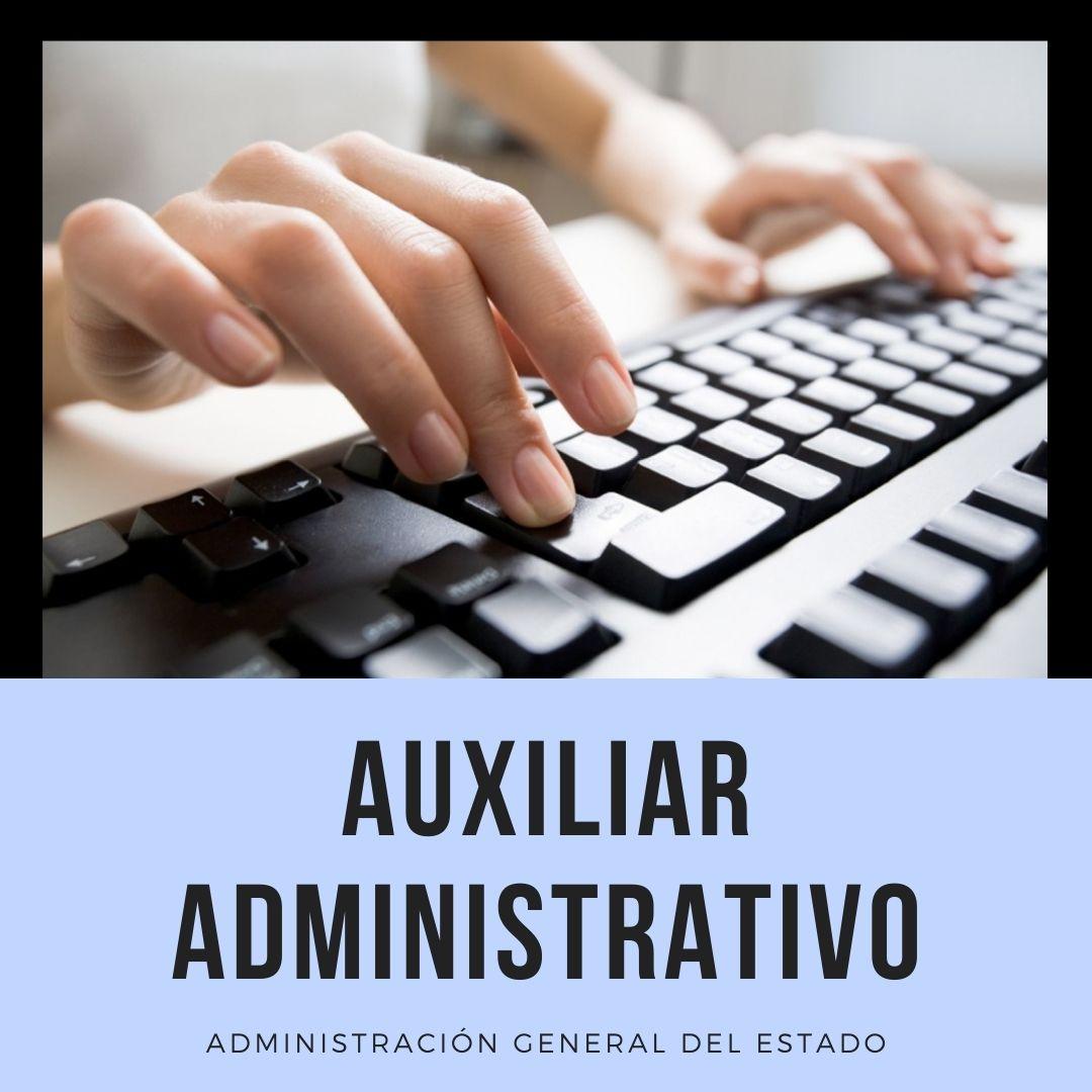 oposiciones-auxiliar-administrativo-estado-2021 Curso oposiciones auxiliar administrativo estado