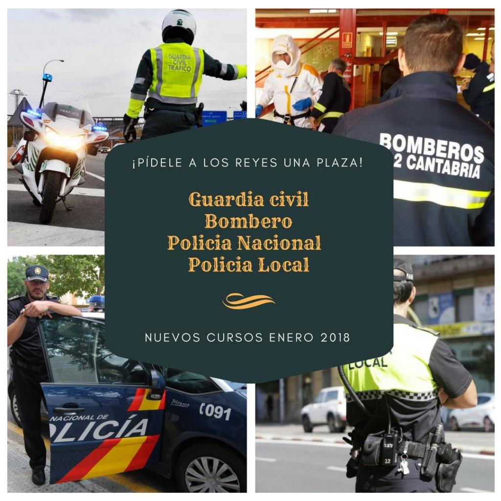 oposiciones-policia-local-nacional-guardia-civil-bombero-santander-cantabria Nuevos cursos oposiciones fuerzas de seguridad y emergencias