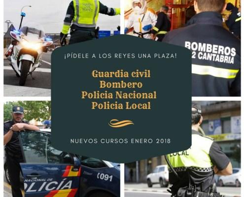 oposiciones policia local nacional guardia civil bombero santander cantabria
