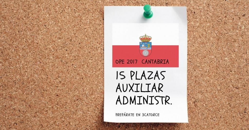 Nuevo-curso-auxiliar-administrativo-Cantabria-2018 Nuevo curso auxiliar administrativo Cantabria 2018