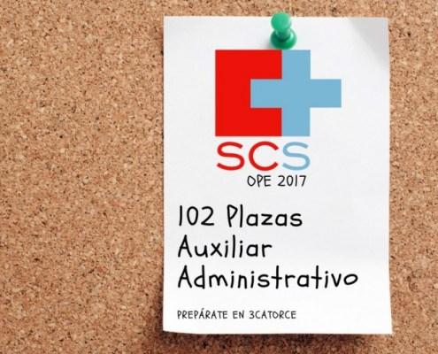 Nuevo curso auxiliar administrativo SCS 2018