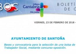 Oposiciones-trabajador-social-para-bolsa-empleo-Santoña Tecnico Superior Educacion Infantil Cantabria