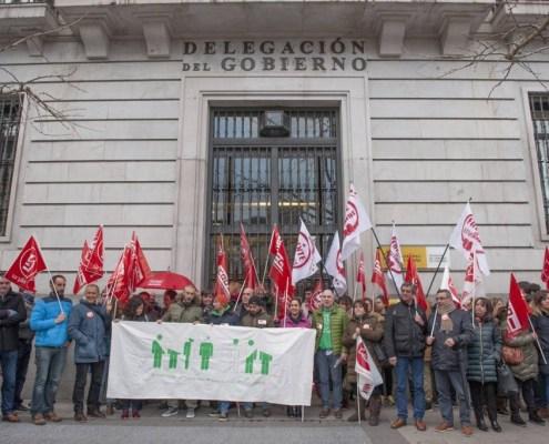 Protestas contra el enfoque de las oposiciones maestros cantabria