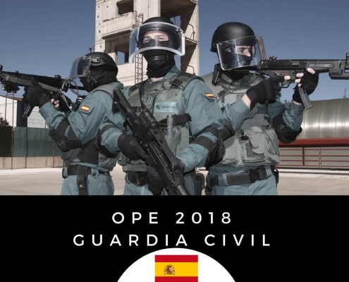 Oferta empleo publico Guardia Civil 2018