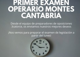 Primer-Examen-Operario-Montes-Cantabria Tecnico Superior Educacion Infantil Cantabria