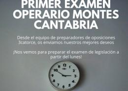 Primer-Examen-Operario-Montes-Cantabria Curso Operario Carreteras Cantabria