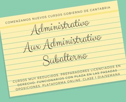 Acuerdo OPE 2017 Estabilizacion Oposiciones Cantabria