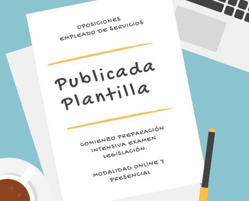 Plantilla Oposiciones Empleado de Servicios Cantabria