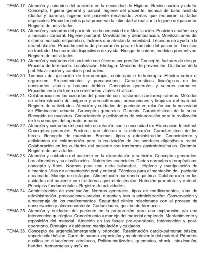 Temario-Auxiliar-Enfermeria-Servicio-Cantabro-de-Salud-3 Actualidad Curso Auxiliar Enfermeria Servicio Cantabro de Salud