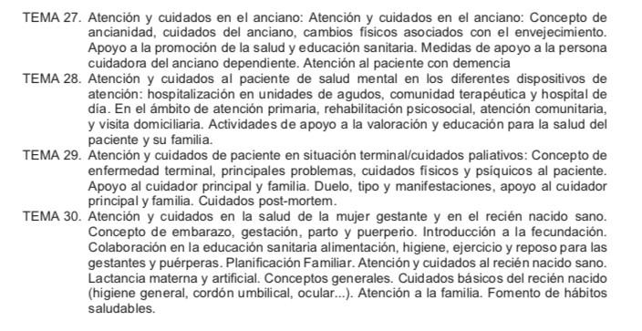 Temario-Auxiliar-Enfermeria-Servicio-Cantabro-de-Salud-4 Repaso oposiciones auxiliar enfermeria Cantabria SCS Santander y Torrelavega