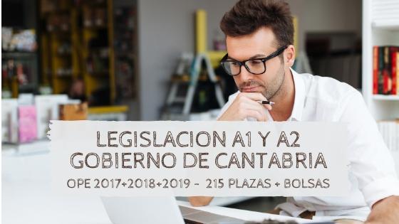 4 Plazas OPEs 2017 2018 2019 Cantabria Oposiciones 2020