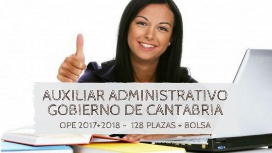 Oposiciones-auxiliar-administrativo-cantabria-2019-1 UGT solicita la apertura de bolsas de personal administativo para los centros escolares