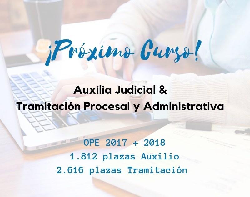 curso-justicia-web Cursos Auxilio Judicial y Tramitacion Procesal Cantabria 2019