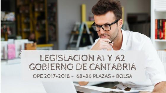 legislacion-Oposiciones-funcionario-cantabria-2019 Publicadas las plazas OPE 2018 Cantabria
