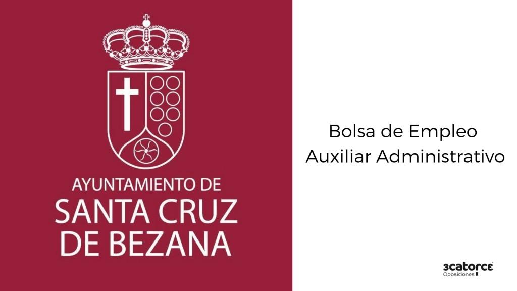 Bases-bolsa-empleo-Auxiliar-Administrativo-Santa-Cruz-de-Bezana Bases bolsa empleo Auxiliar Administrativo Santa Cruz de Bezana