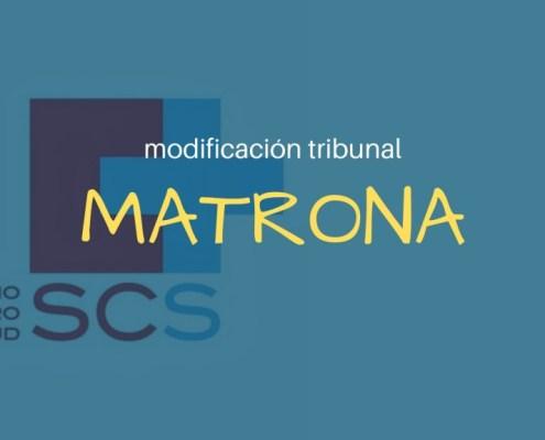 Modificacion Tribunal Calificador oposicion Matrona SCS