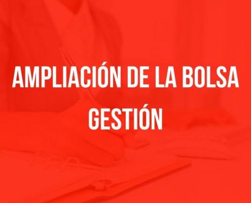 Ampliacion bolsa Gestion Cantabria
