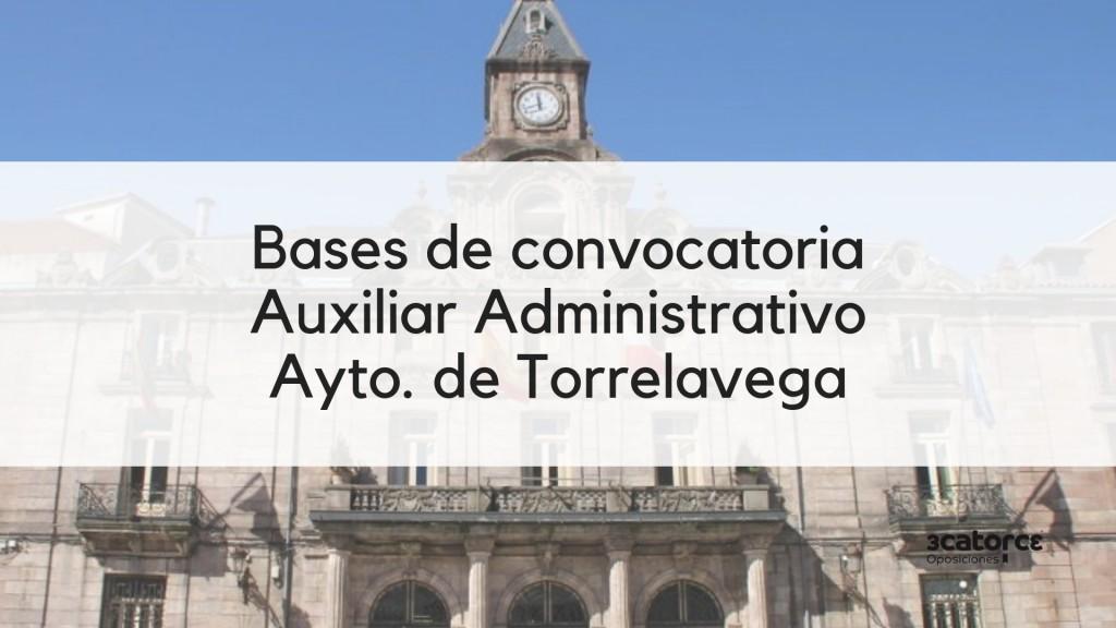 1-plaza-Auxiliar-Administrativo-oposiciones-2019-Torrelavega-Cantabria 1 plaza Auxiliar Administrativo oposiciones 2019 Torrelavega Cantabria