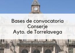 3-plazas-Conserje-oposiciones-2019-Torrelavega-Cantabria Bases bolsa empleo Auxiliar Administrativo Santa Cruz de Bezana